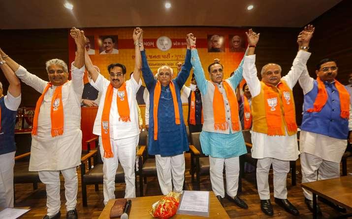 New gujarat CM Announced, gujarat CM, Vijay Rupani resignation latest news, gujarat CM, Bhupendrabha
