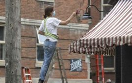 Ruth Bonneville / Winnipeg Free Press Files</p><p>The Langside area got a Montreal makeover to look like the Quebec city for the locally produced CBC series The Porter in July.</p>
