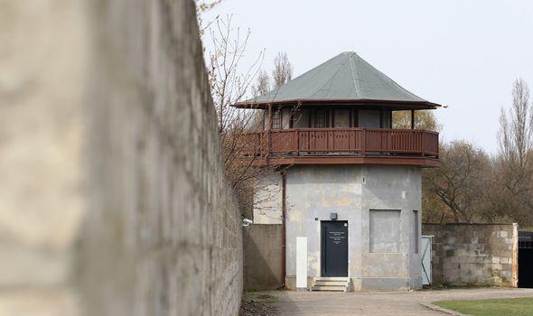 Sachsenhausen control tower