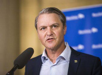 MIKAELA MACKENZIE / WINNIPEG FREE PRESS</p><p>Justice minister Cameron Friesen.</p>